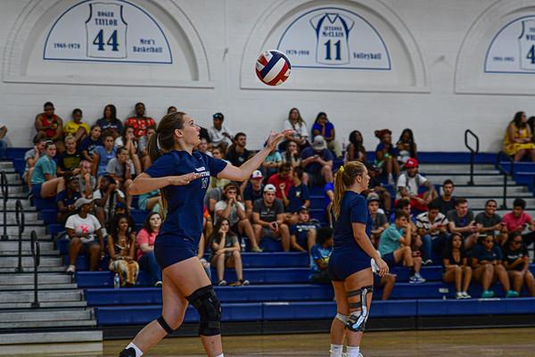 8-27-19 NC Wesleyan W Volleyball