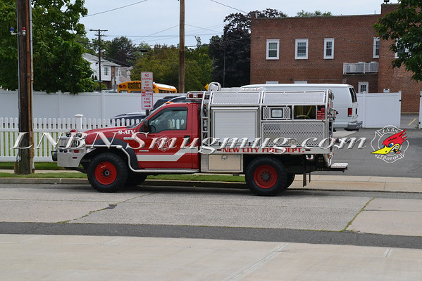 Seaford F.D  Engine 681 Dedication  8-19-12