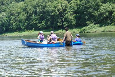 July Canoe trip 2009