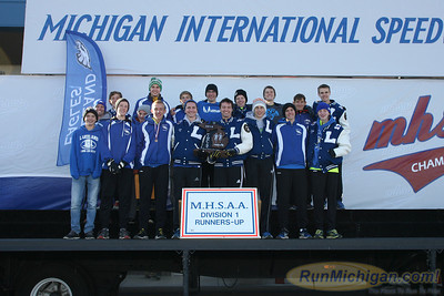 Awards Team, D1 Boys - 2014 MHSAA LP XC Finals