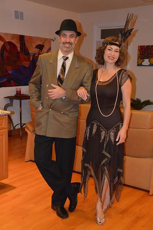 2013 NYE /1920s theme party