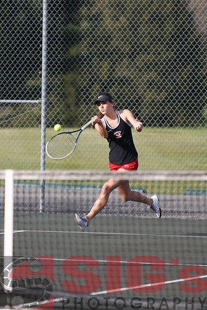 04-10-17 BHS Tennis vs Lewis County