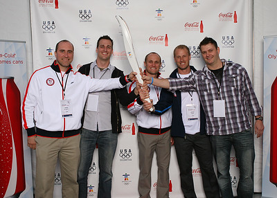 Coca-Cola Reception for Olympians
