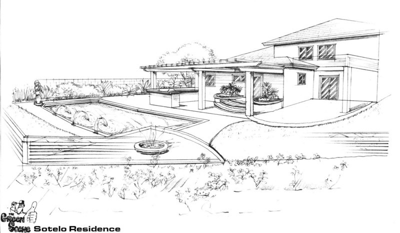 Beckford Back yard concepts 01.06.05