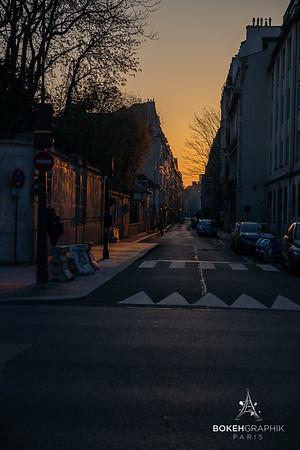 Paris city of Loneliness