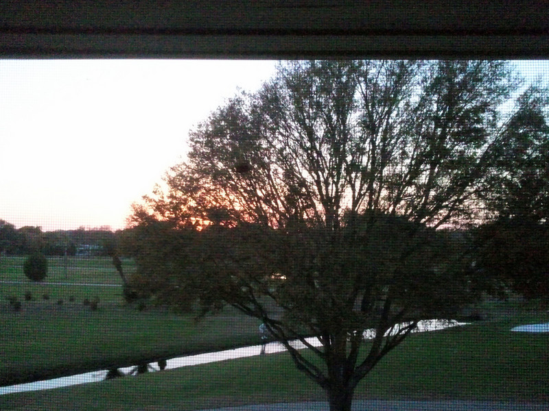 Largo Golf Sunset