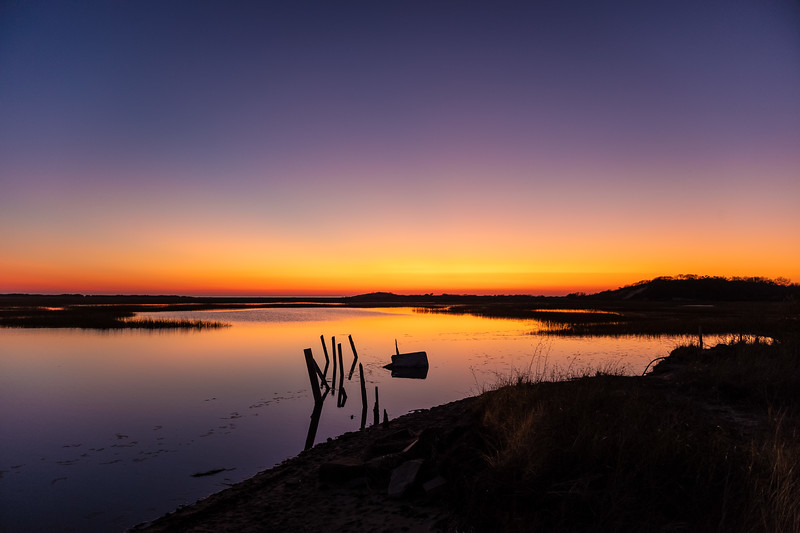 pilings sunset LongPoint Marsh.jpg