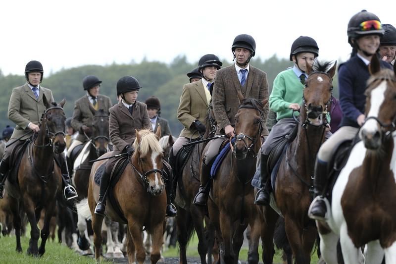 Hawick Common Riding 2019 — Preisthaugh Rideout