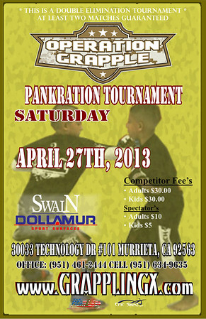 April 27 2013 Operation Grappling Pankration Murrieta Ca