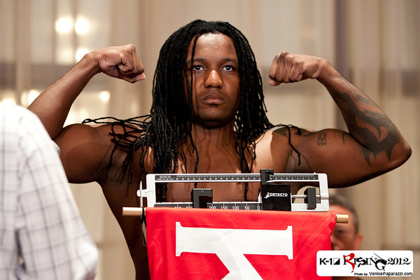 09.07.12 K-1 Rising Weigh ins at the Millennium Biltmore Hotel in Los Angeles