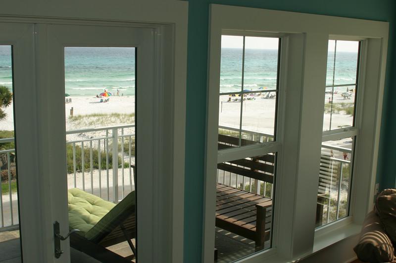 third floor view from master bedroom