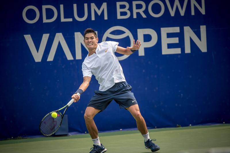 Odlum Brown Van Open 2018. Photo By: Scott Robarts