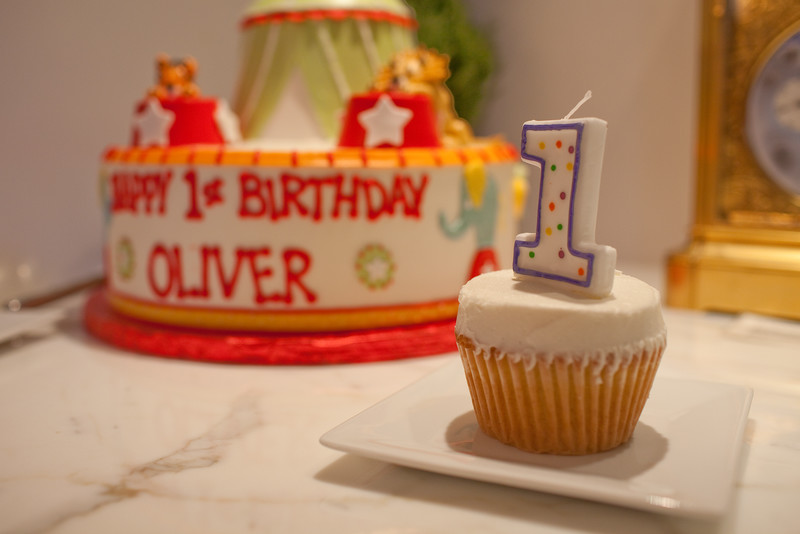 Oliver's 1st Birthday