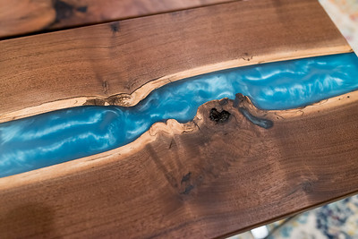 Jim & Woody's Epoxy Resin Tables