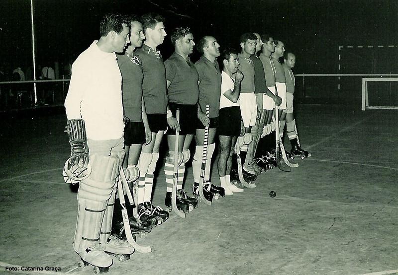 C.V., Joaquim Silva, Seixas, Jorge Monteiro, Rebordão, Oliveira, Carlos Silva, Braga, C.V., Simão e Jorge Graça