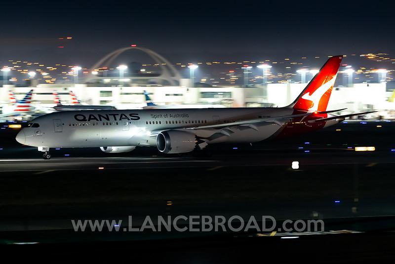 Qantas 787-9 - VH-ZNH - LAX