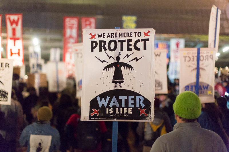 Protests Marches Vigils copyright Sam Breach 2016-20170126 - T48A0131 -We Resist No KXL no DAPL - photographed by Sam Breach 2017.jpg