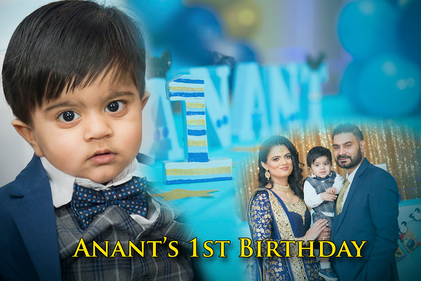 Anant's 1st Birthday