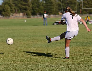 Outlaw Girls Soccer vs Sweet Home 9-18-14