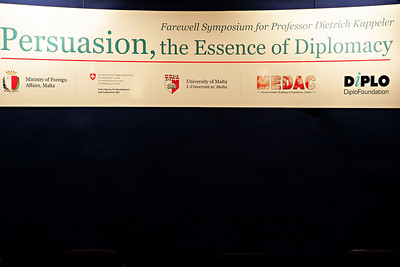 Persuasion, the Essence of Diplomacy