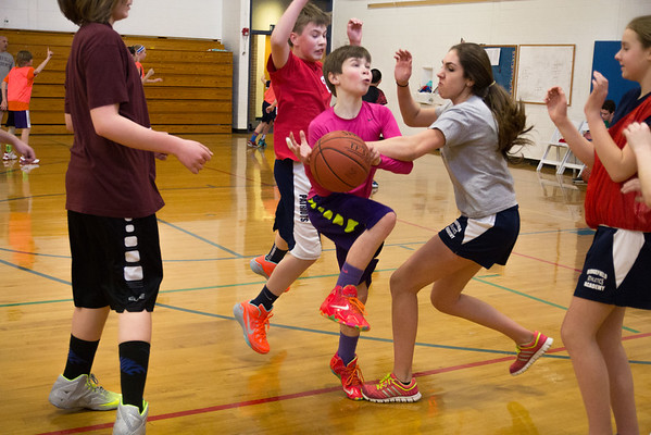 Upper School 4v4 Basketball
