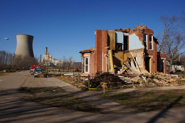 Tornado Damage - Moscow, Ohio