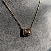 'For You I Live' 18kt Rose Gold Cast Rebus Pendant, by Seal & Scribe 8