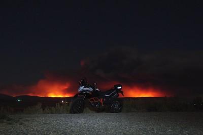 20200929 JCSAR BBQ, Mullen Fire