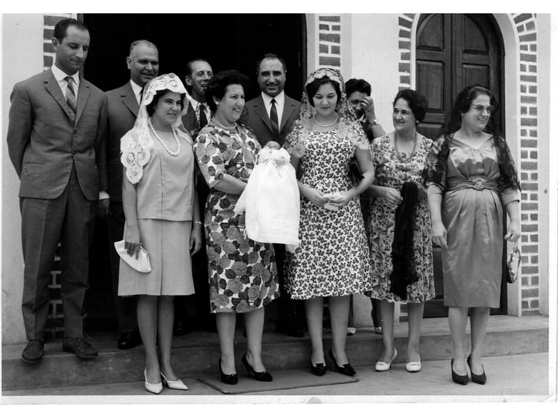 Baptizado do Manuel Vasco Paulo ( Bastos)