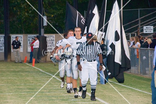 2008 Sept 26 - East Paulding vs Marietta