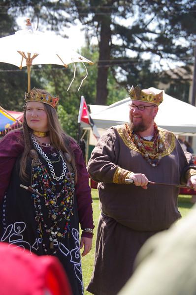 King James & Queen Joan