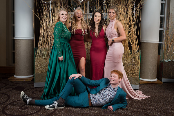 School leavers ball and school prom photography