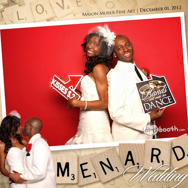 "12.01.2012 Tiffani + Dany Menard WeddingMason Murer Fine Art | Atlanta, GA""Like"" us at www.facebook.com/omgbooth to TAG + SHARE + DOWNLOAD your photosJoin us in wishing Dany & Tiffani a marriage blessed with faith, joy, and love."