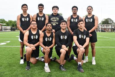 2019 Boys JV Track Team