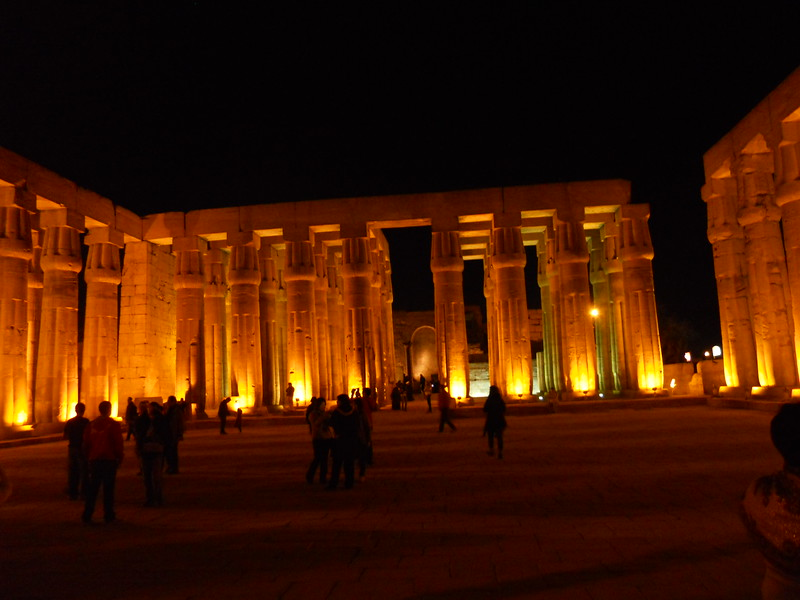 Luxor Temple -- Kimberly Collins