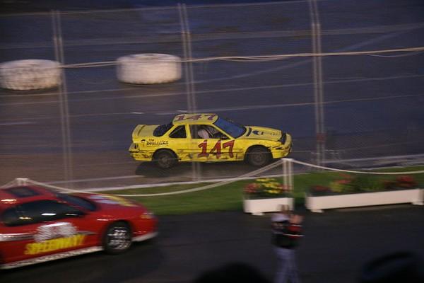 Redneck Night at Evergreen Speedway