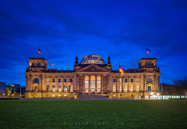 到柏林攝影 德國國會大廈 Reichstag building by 張威廉 Wilhelm Chang