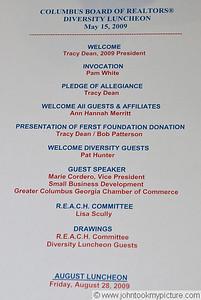 2009 05 15 CBOR Diversity Luncheon