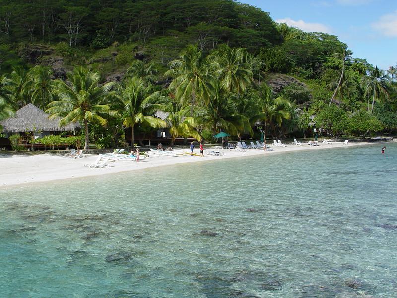 Te Tiare Resort, Huahine