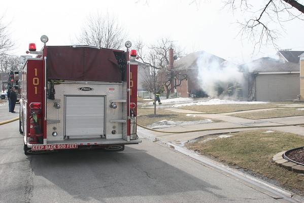 NORWOOD PARK, IL 7402 BERTEAU GARAGE FIRE (3.9.2007)