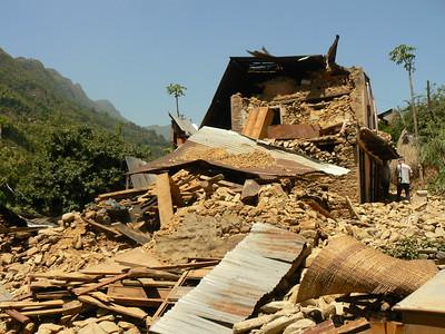 Earthquake damage taken May 2015