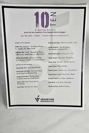 5-15-2021 Ms. Ivy & Ms. Elise Students @ GPA Ten Recital