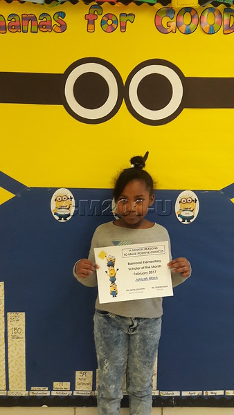 Scholar of the Month- February
