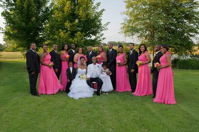 DeAnna & A.B. Wedding - Formals