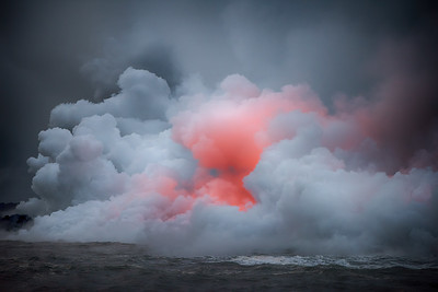 Hawaii Volcano Eruption by Land, Air and Boat