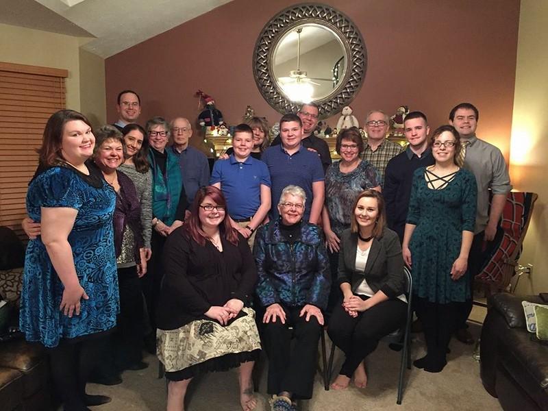 Mom's 80th Birthday celebration - January 28, 2017