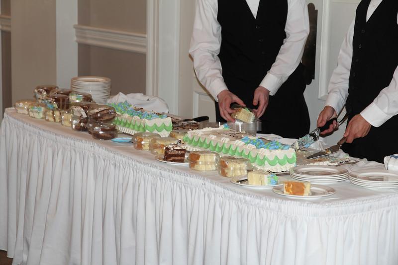 take-out cake!