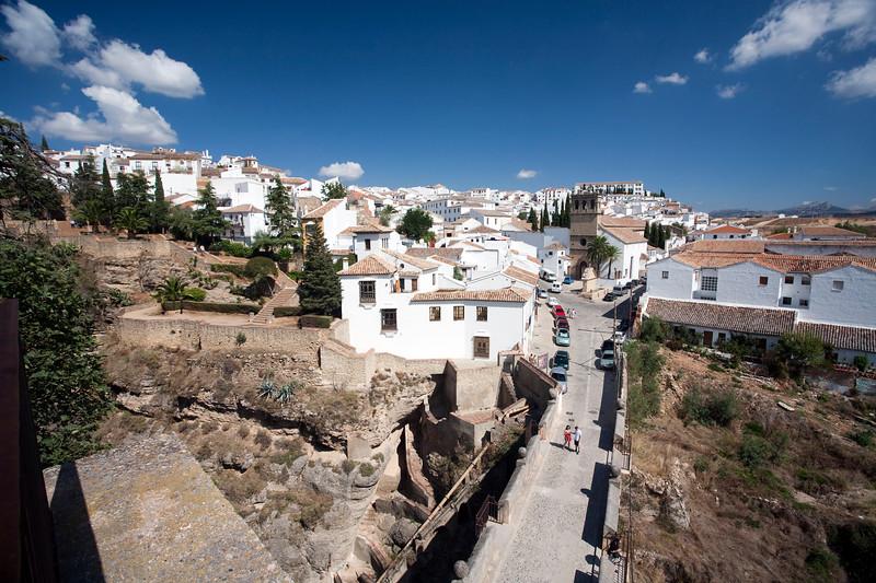 Cityscape of Ronda, province of Malaga, Andalusia, Spain