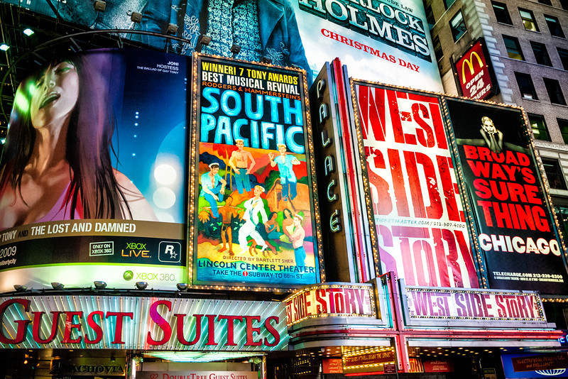Times Square Signs, New York