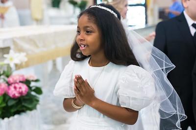 Gabriella's First Communion